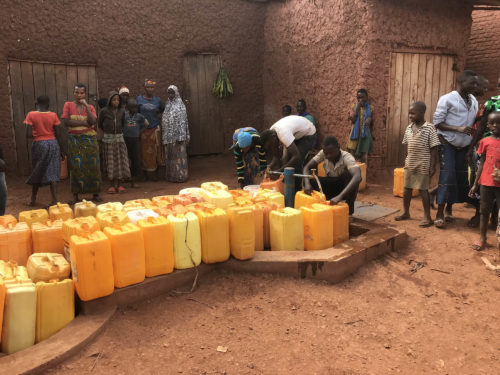 After Water Project Completed, Burundi